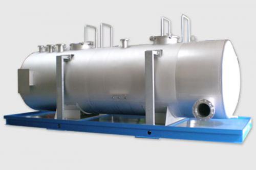 Lagertank aus Edelstahl